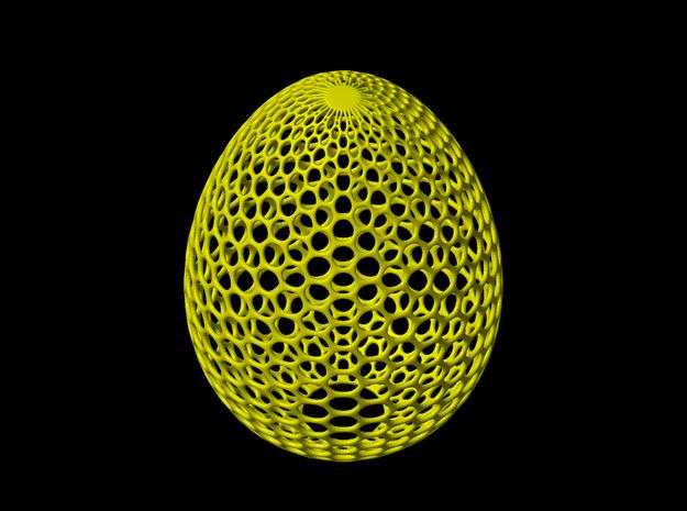 Egg light holder in White Natural Versatile Plastic