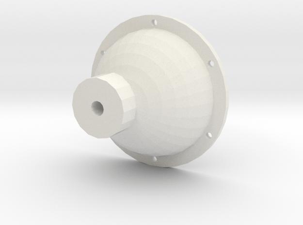 Hinterachse in White Natural Versatile Plastic