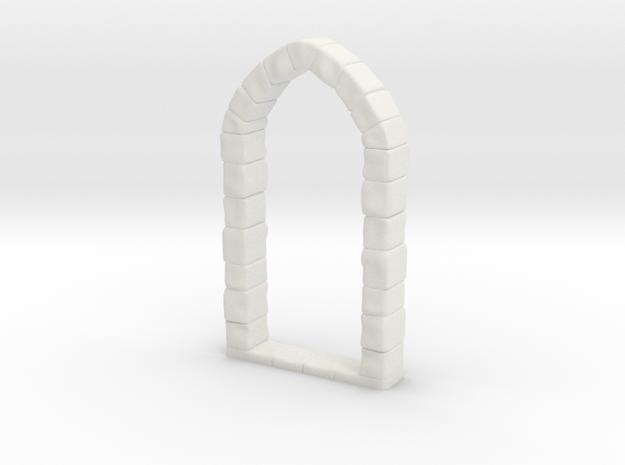 Door Frame in White Natural Versatile Plastic