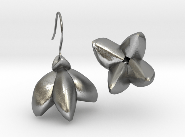 Yagoda Earrings By Inna in Natural Silver
