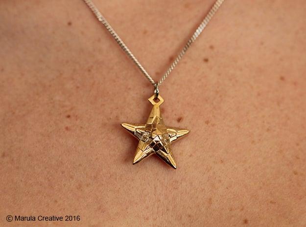 Stylised Sea Star Pendant
