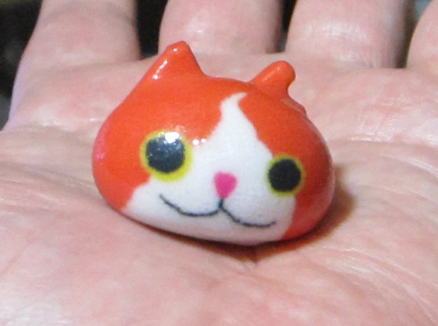 Yo Cat  in Glossy Full Color Sandstone