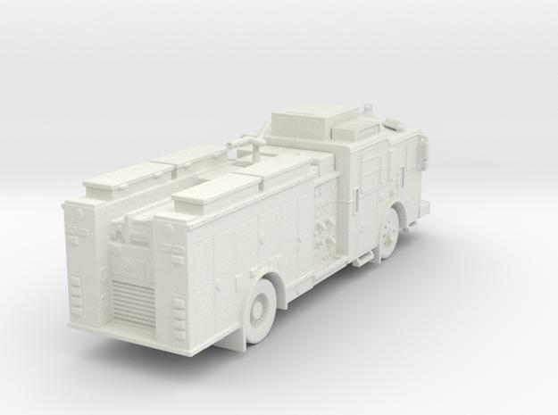 ~1/87 FDNY ish Seagrave MII Squad in White Natural Versatile Plastic