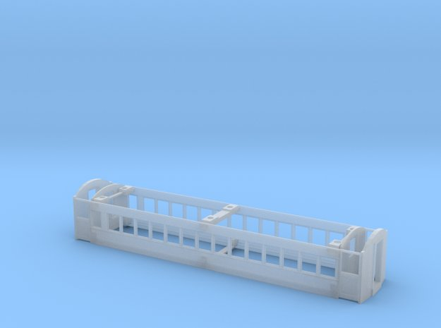 CNR - C-2 Coach - S-Scale in Smooth Fine Detail Plastic