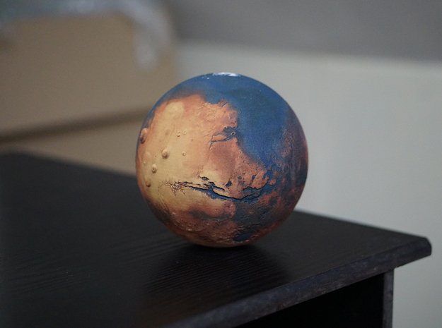 Oceanic Mars