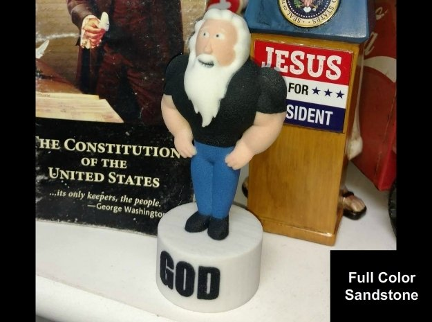 FB God Statue