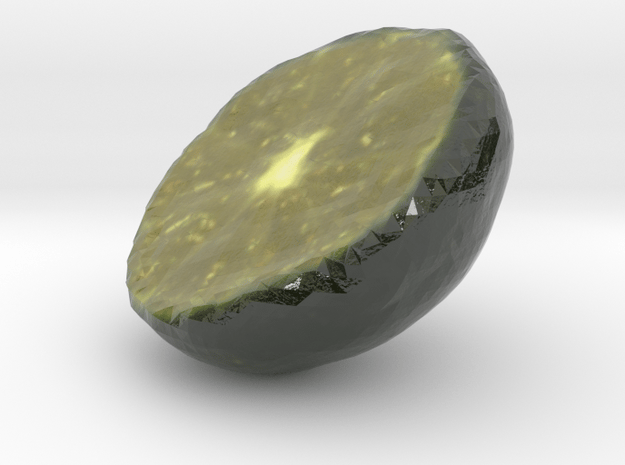 The Citrus Depressa-Half in Glossy Full Color Sandstone