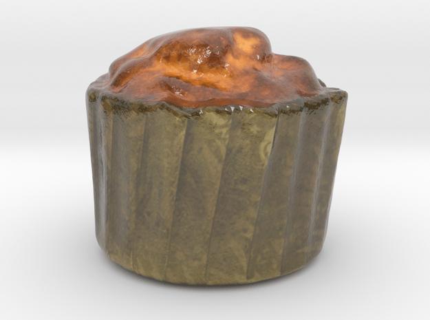 The Muffin-mini in Glossy Full Color Sandstone