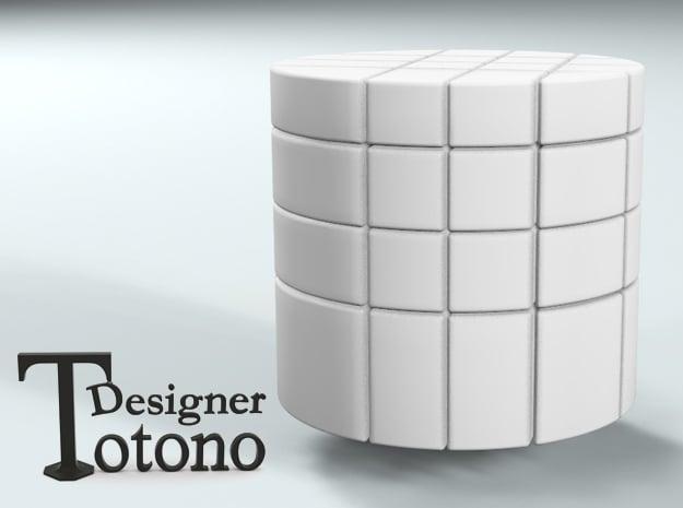 """4x4x4 Bump Barrel """"Cube"""""""