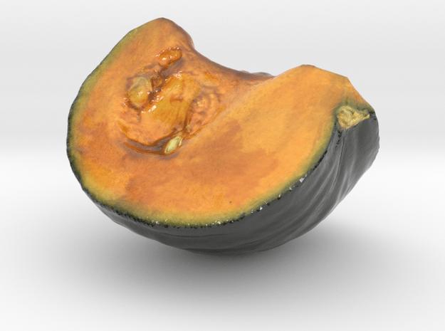 The Pumpkin-mini in Glossy Full Color Sandstone