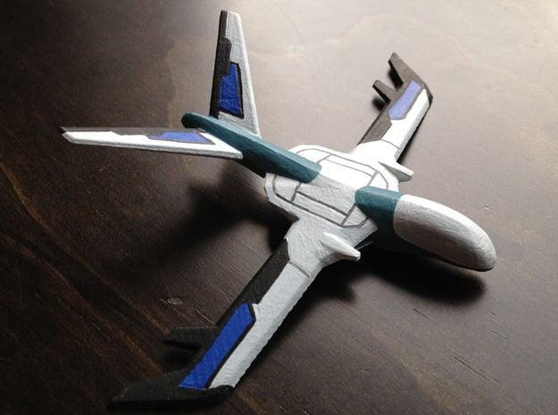 Electronic Warfare Drone in White Natural Versatile Plastic