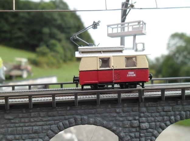 ÖBB X 512  in Spur N in Smooth Fine Detail Plastic