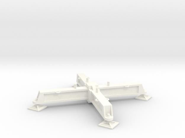 Potain MC 65 base in White Processed Versatile Plastic