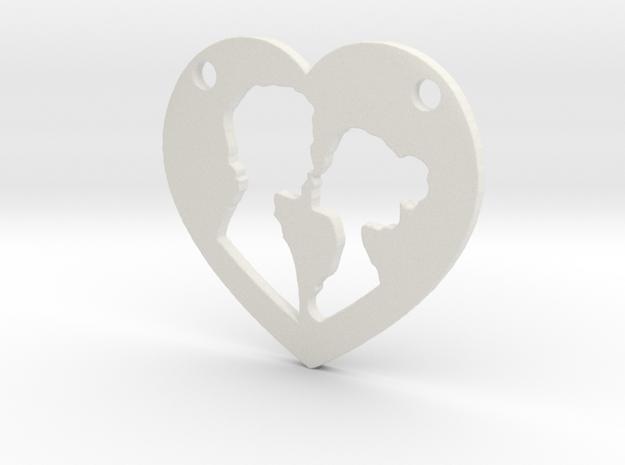 Love in White Natural Versatile Plastic