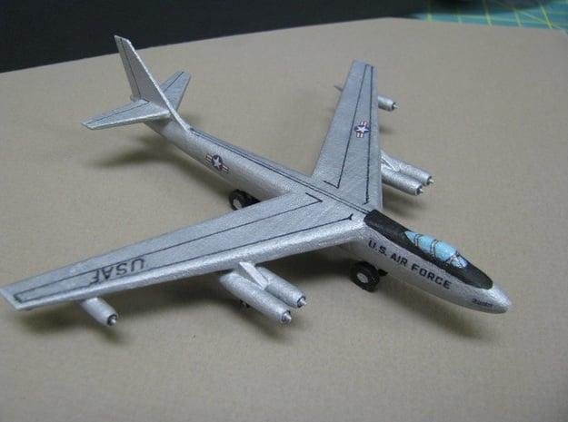 1/285 (6mm) B-47 E Stratojet in White Natural Versatile Plastic