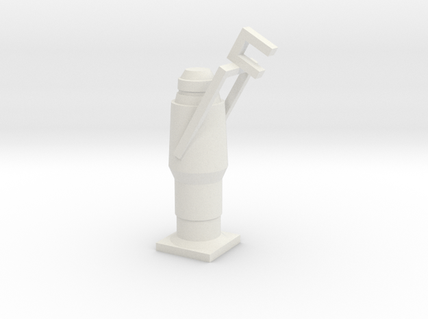 1:24 Srce Four Hollow in White Natural Versatile Plastic