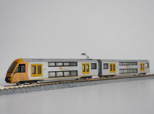 N04A - A-Set Waratah - N Scale in Smooth Fine Detail Plastic