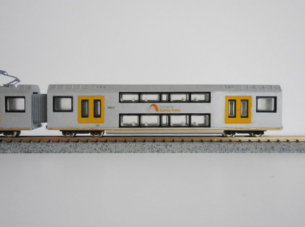 N.05A - A Set Waratah Trailer Combo - Part A in Smooth Fine Detail Plastic