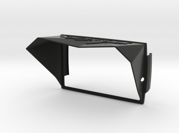 Sunshade II (Clip-On) for BMW Navigator 5 in Black Natural Versatile Plastic