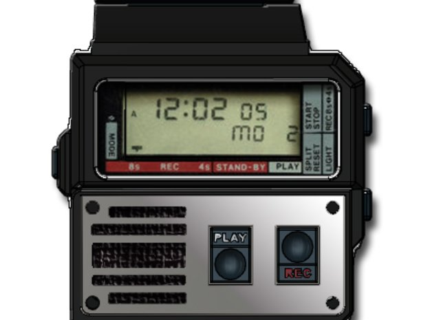 GB Watch Cosplay Top Body in Smooth Fine Detail Plastic