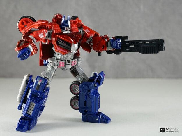 Transformers CHUG Super Shotgun in Black Natural Versatile Plastic
