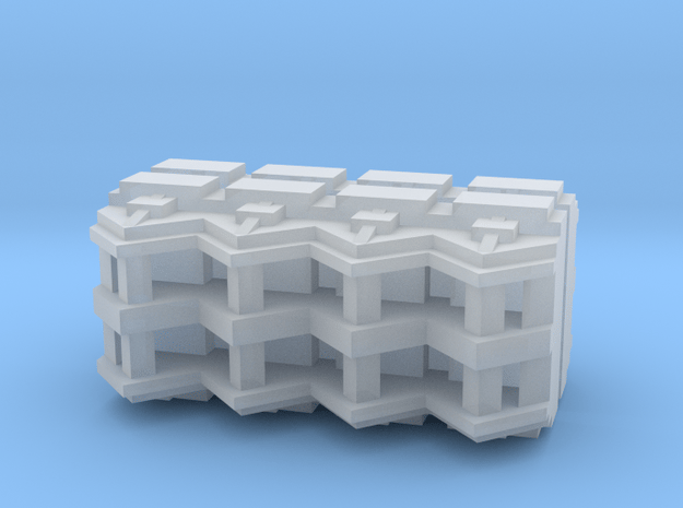 Launch Bay set in Smooth Fine Detail Plastic