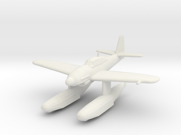 Aichi M6A1 'Seiran' (without bomb) in White Natural Versatile Plastic: 1:200