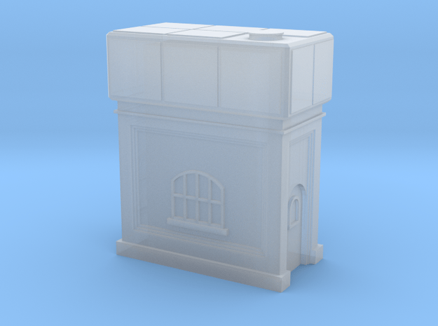 (1:450) GWR Water Tower #3 in Smooth Fine Detail Plastic