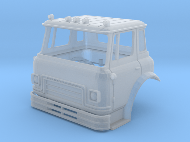 HO-Scale Cargostar Cab in Smoothest Fine Detail Plastic