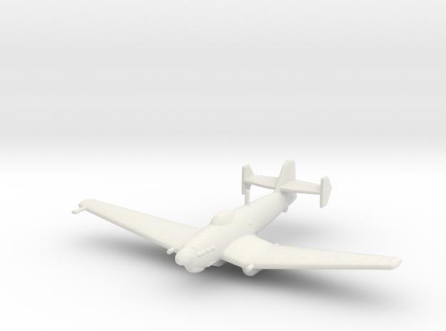 Loire-Nieuport LN.401/411 (with bomb) in White Natural Versatile Plastic: 1:200