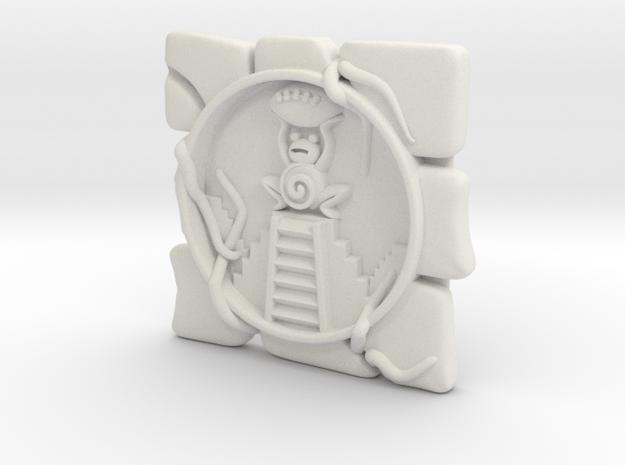 Fantasy Football Frog Marker in White Natural Versatile Plastic