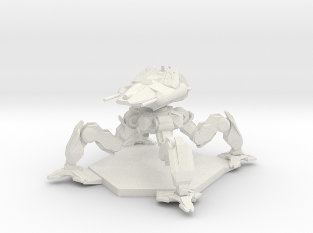 Webslinger in White Natural Versatile Plastic