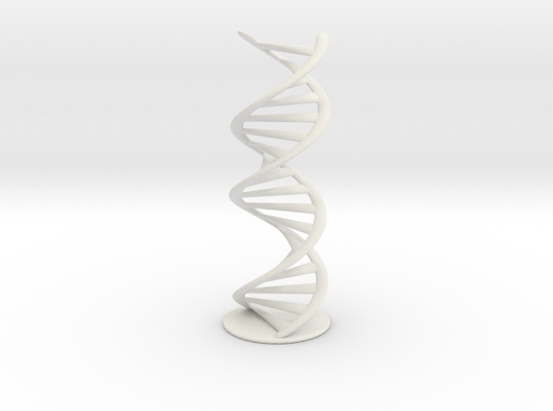 DNA helix + stand (small)