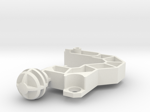 OS Feral Rex Foot Part in White Natural Versatile Plastic