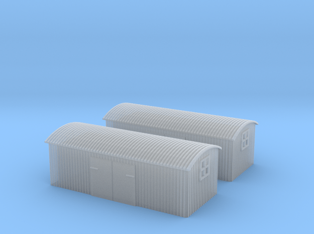 (1:450) GWR Lineside Huts #2 in Smooth Fine Detail Plastic