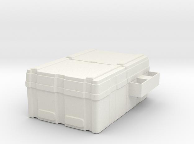 Powerloader crate 1:18 scale in White Natural Versatile Plastic