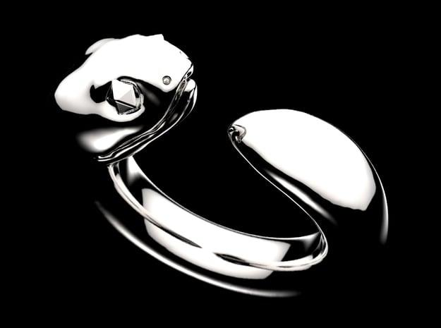 Tsuchinoko  in Fine Detail Polished Silver: 9 / 59