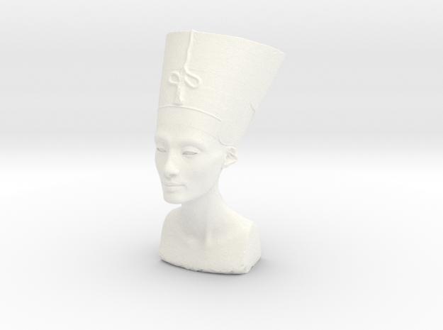 Bust Of Nefertiti At The Neues Museum, Berlin in White Processed Versatile Plastic