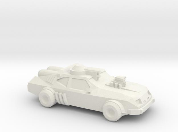 Thunder Road V8 Interceptor  in White Natural Versatile Plastic