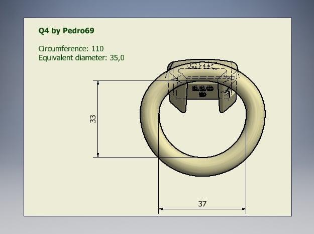 Q4-T110-06 in White Processed Versatile Plastic