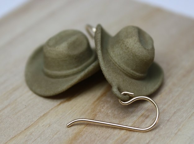 Cowboy Hat Earrings