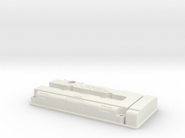 Honda B Series VTEC Valve Cover in White Natural Versatile Plastic
