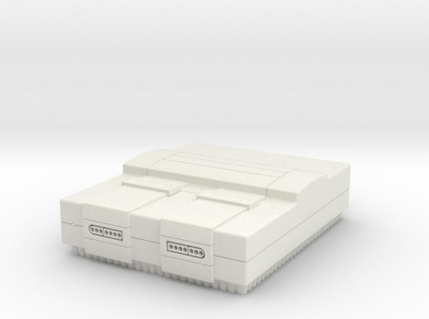 SNES in White Natural Versatile Plastic