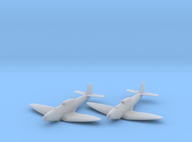 Heinkel He 112B 1:200 x2 FUD in Smooth Fine Detail Plastic
