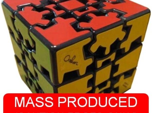 Edges for Anisotropic Cube in White Natural Versatile Plastic