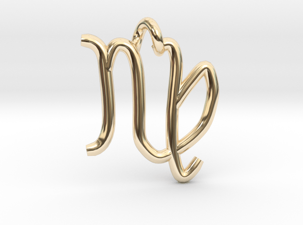 Virgo (zodiac)- Pendant