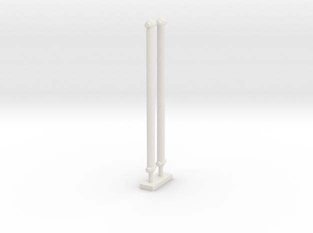 Kardanstange Extertalbahn in White Natural Versatile Plastic