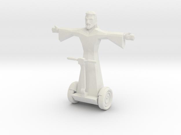 Jesus in White Natural Versatile Plastic