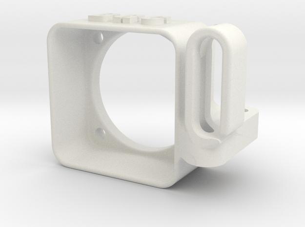 YZ4 - Speedo Fan Cooler & Wire Guide w/o Grid in White Natural Versatile Plastic