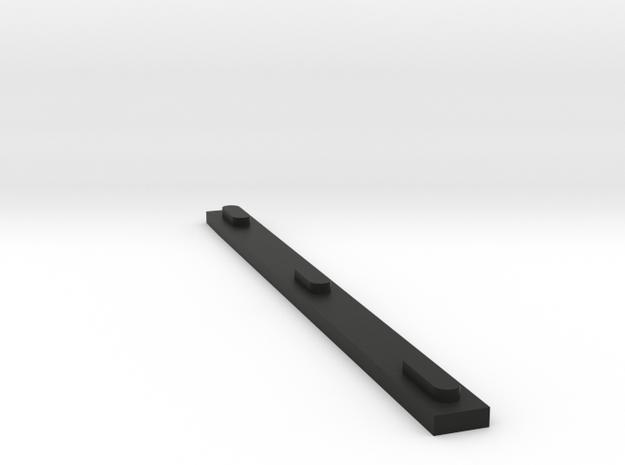 Ray 7 in Black Natural Versatile Plastic